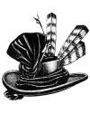 Ladies Victorian Touring Hats
